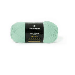 Lana Cotton 100% algodón premium verde agua 014