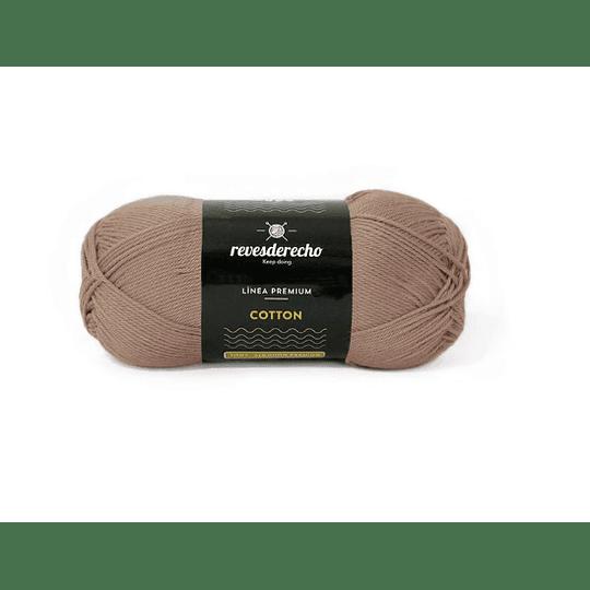 Lana Cotton 100% algodón premium vison 009