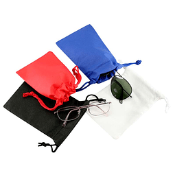 Bolsa Ecológica en Tela PP non-woven 80g, 100% reciclable y reutilizable, con cordón de cierre al tono.