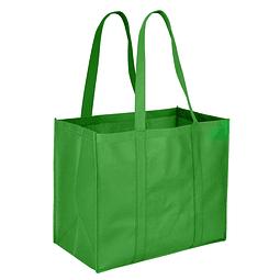 Bolsa Ecológica Gigante, en Tela TNT reforzada de 100 g/m2, 100% reciclable y reutilizable. Cuenta con 2 asas de 70 cm c/u aprox.