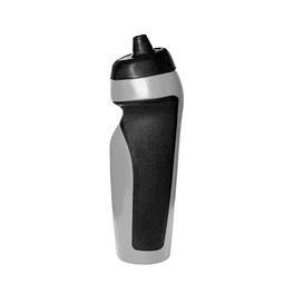 Capacidad 500 ml. Plástico y goma. Mug con grip de goma texturizado en color negro.