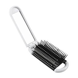 Cepillo Rectangular plegable, con espejo.