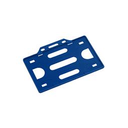 Porta-Credencial de Plástico Rígido, para Credenciales tamaño Tarjeta de Crédito.