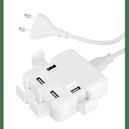 Hub USB 4 Puertos Power Strip