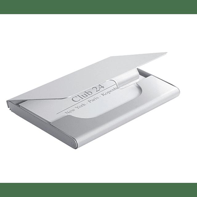 Tarjetero de Aluminio