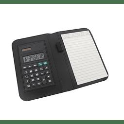 Carpeta Pequeña con Calculadora
