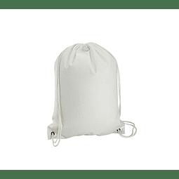 Mochila Simple de Poly-Cotton