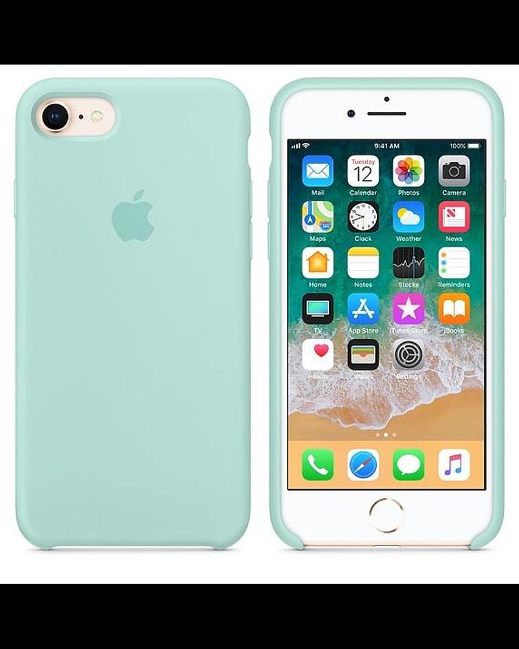 Carcasa Silicona iPhone 7-8- SE 2020 Colores