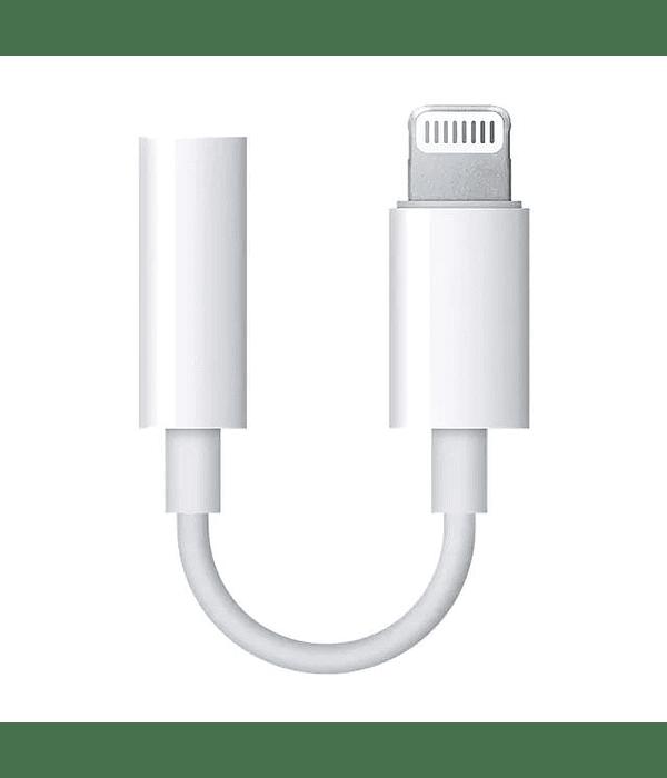 Adaptador iPhone Lightning a 3.5 mm