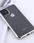 Carcasa Transparente iPhone 11 bordes colores