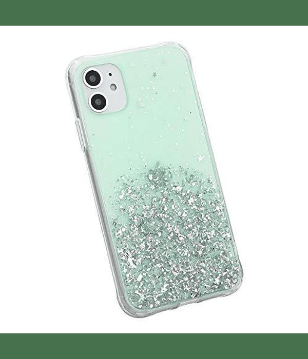 Carcasa iPhone 11 Estrellas Menta