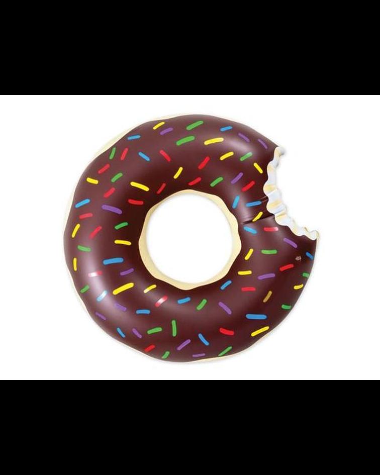 Flotador donut rosquilla café 90 centímetros