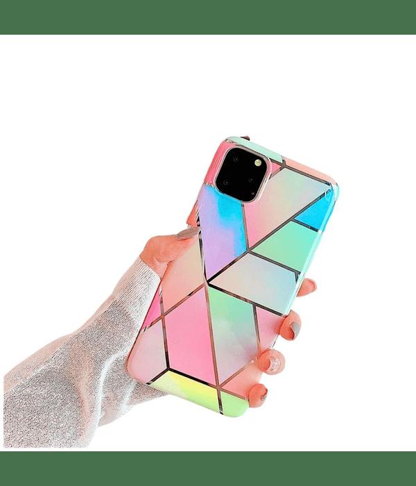 Carcasa iPhone 12 PRO MAX Mármol colorida