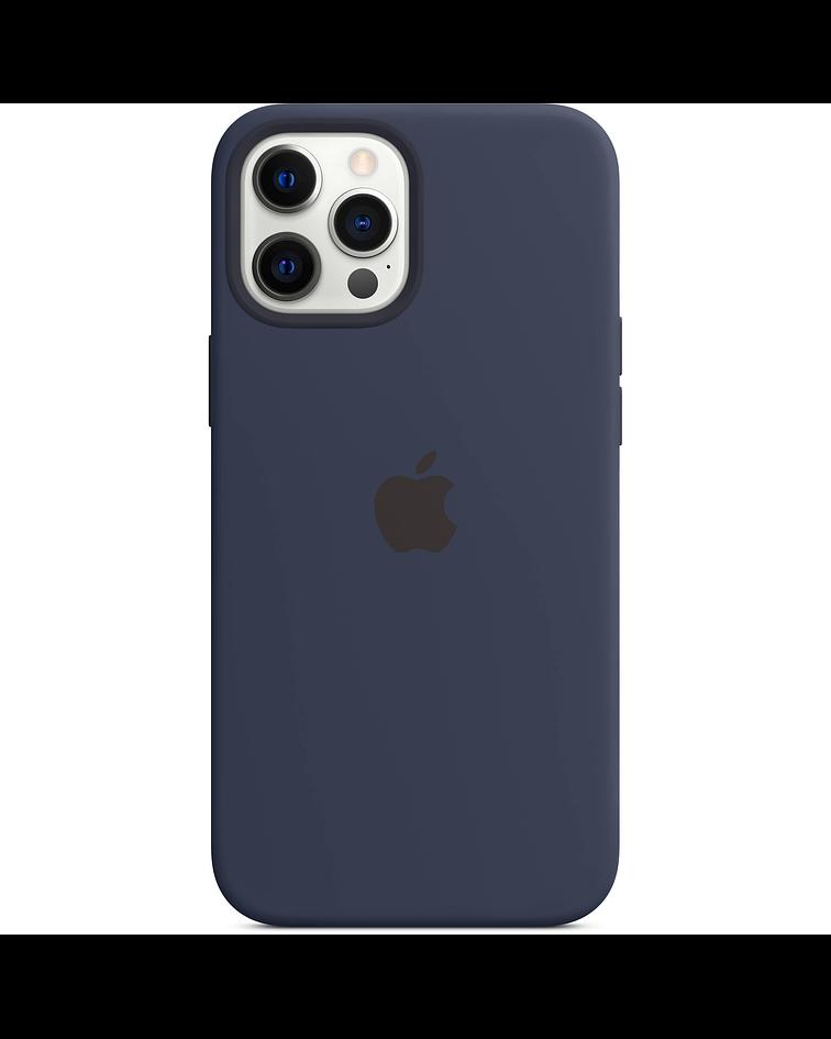 Funda Carcasa Silicona iPhone 12 PRO Max Magsafe Azul