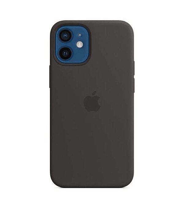 Funda Carcasa Silicona iPhone 12 PRO Max Magsafe Negro