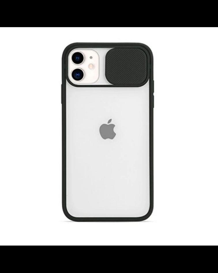 Carcasa cubre cámara iPhone 12 PRO MAX Negro