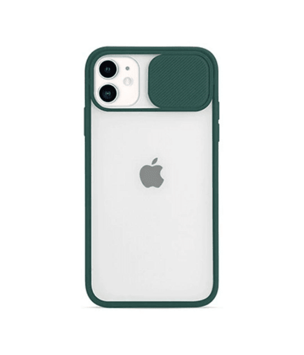 Carcasa cubre cámara iPhone 11 Verde