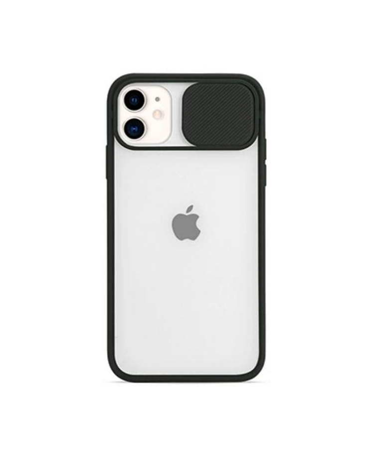 Carcasa cubre cámara iPhone 11 Negro