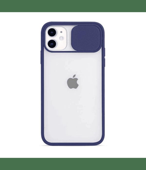 Carcasa cubre cámara iPhone 12 PRO MAX Azul
