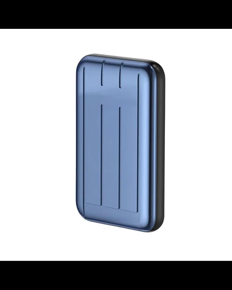 Power Bank Cargador inalámbrico Magnético o cable 5000 mAh