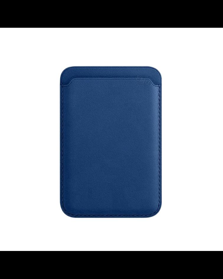 Tarjetero Magnético Magsafe iPhone 12 Azul