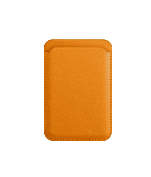 Tarjetero Magnético MagSafe iPhone 12 Amarillo