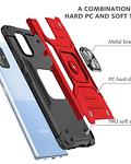 Carcasa Samsung A71 Armor Anti Golpes anillo Colores