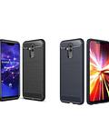Carcasa Huawei Mate 20 Lite Fibra Carbon Anti Golpes Colores