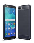 Carcasa Huawei Y5 2018 Fibra Carbon Anti Golpes Colores