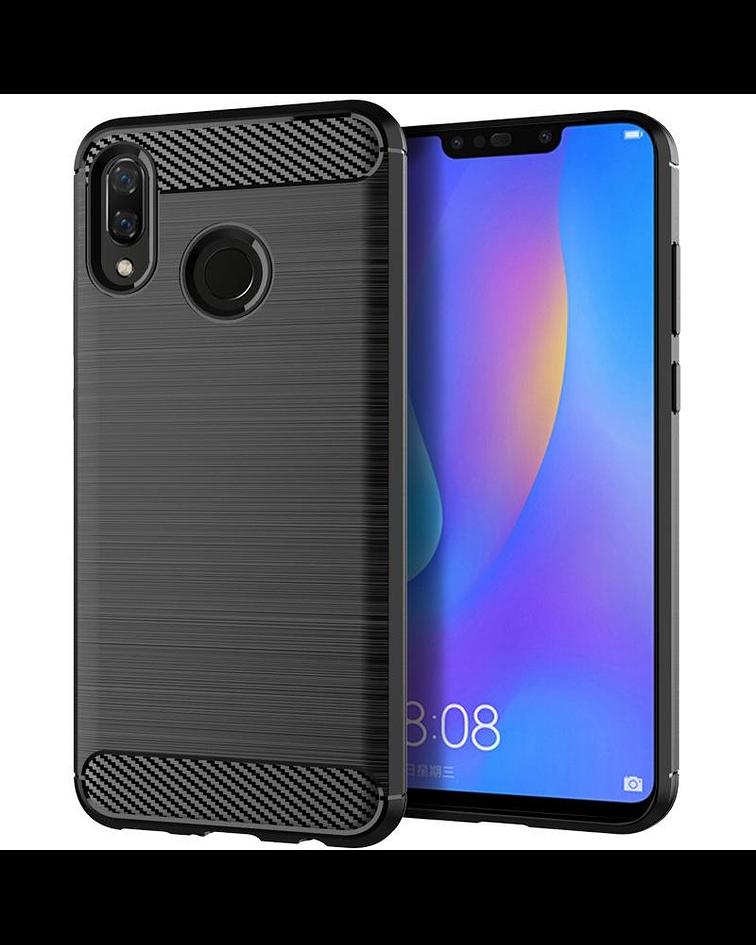 Carcasa Huawei Y9 2019 Fibra Carbon Anti Golpes Colores