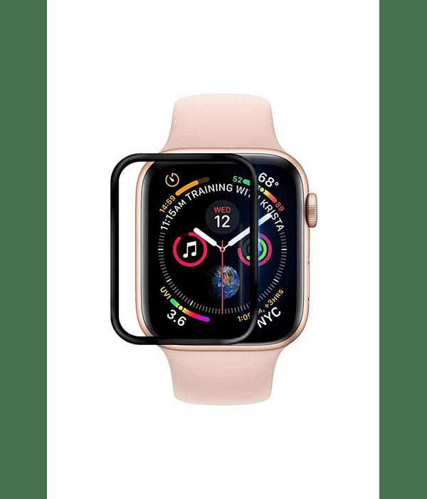 Lámina Silicona Apple Watch 38 mm borde Negro