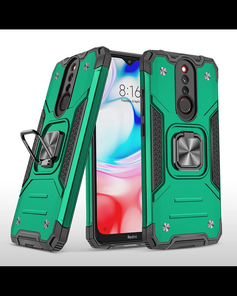 Carcasa Xiaomi RedMi 8 Armor Anti Golpes anillo Colores