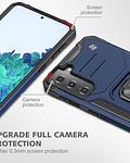 Carcasa Samsung S21 Armor Anti Golpes anillo Colores