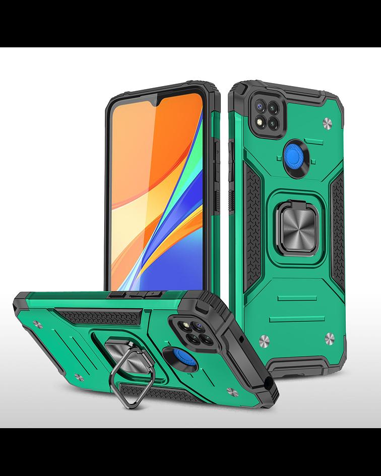 Carcasa Xiaomi Redmi 9C Armor Anti Golpes anillo Colores