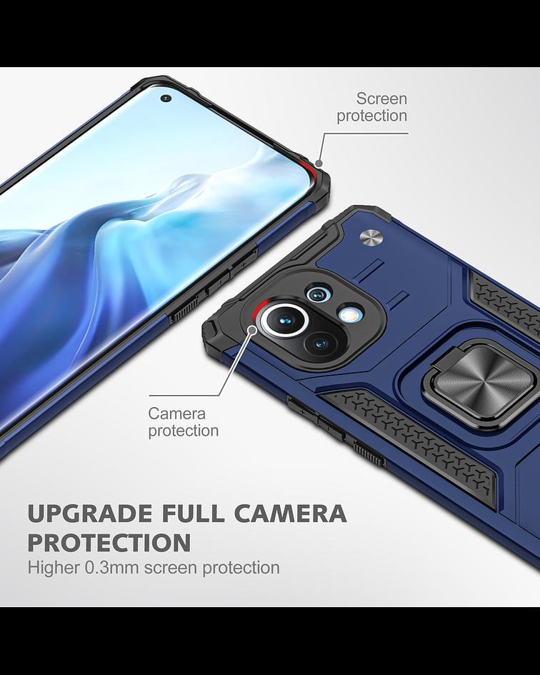 Carcasa Xiaomi Mi 11 Armor Anti Golpes anillo Colores