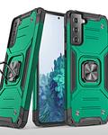 Carcasa Samsung S21+ Plus Armor Anti Golpes anillo Colores