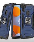 Carcasa Samsung A11 Armor Anti Golpes anillo Colores