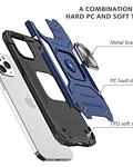 Carcasa iPhone 12 Pro Max Armor Anti Golpes anillo Colores