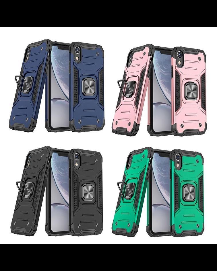 Carcasa iPhone XR Armor Anti Golpes anillo Colores
