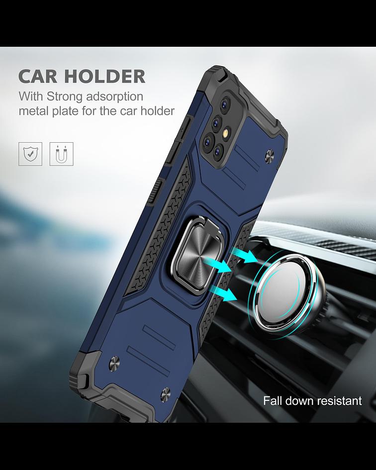 Carcasa Samsung A51 Armor Anti Golpes anillo Colores