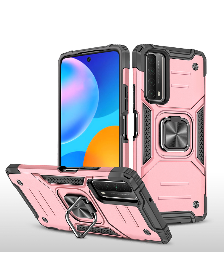 Carcasa Huawei P Smart 2021  Armor Anti Golpes anillo Colores