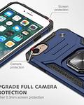 Carcasa iPhone 7-8-SE2020 Armor Anti Golpes anillo Colores
