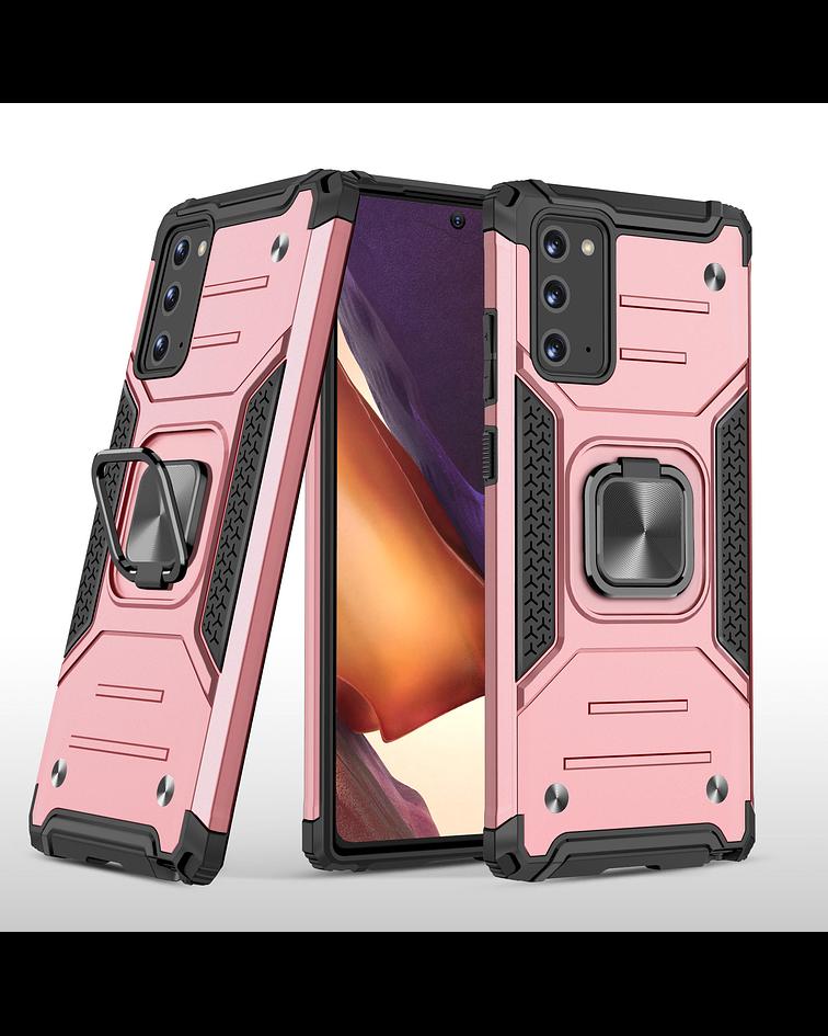 Carcasa Samsung Note 20 Armor Anti Golpes anillo Colores
