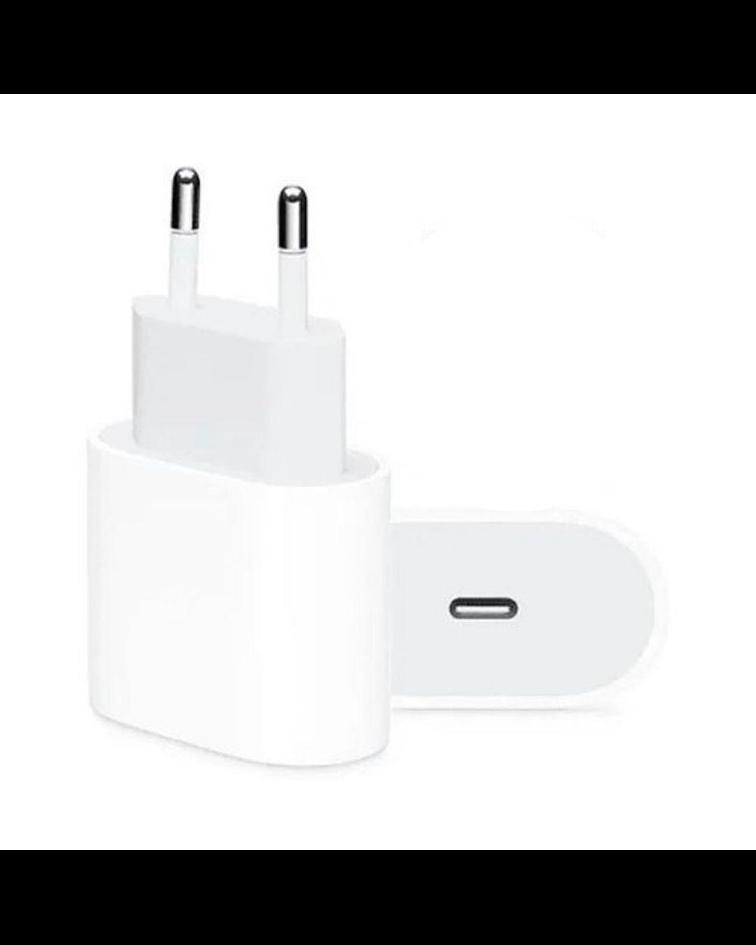 Cargador Adaptador Rápido 18w USB C iPhone
