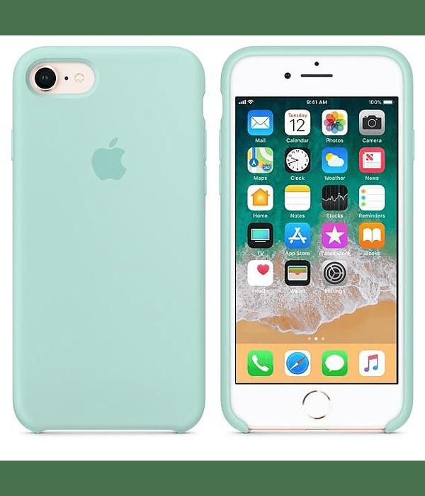 Carcasa Silicona iPhone 8+ Colores