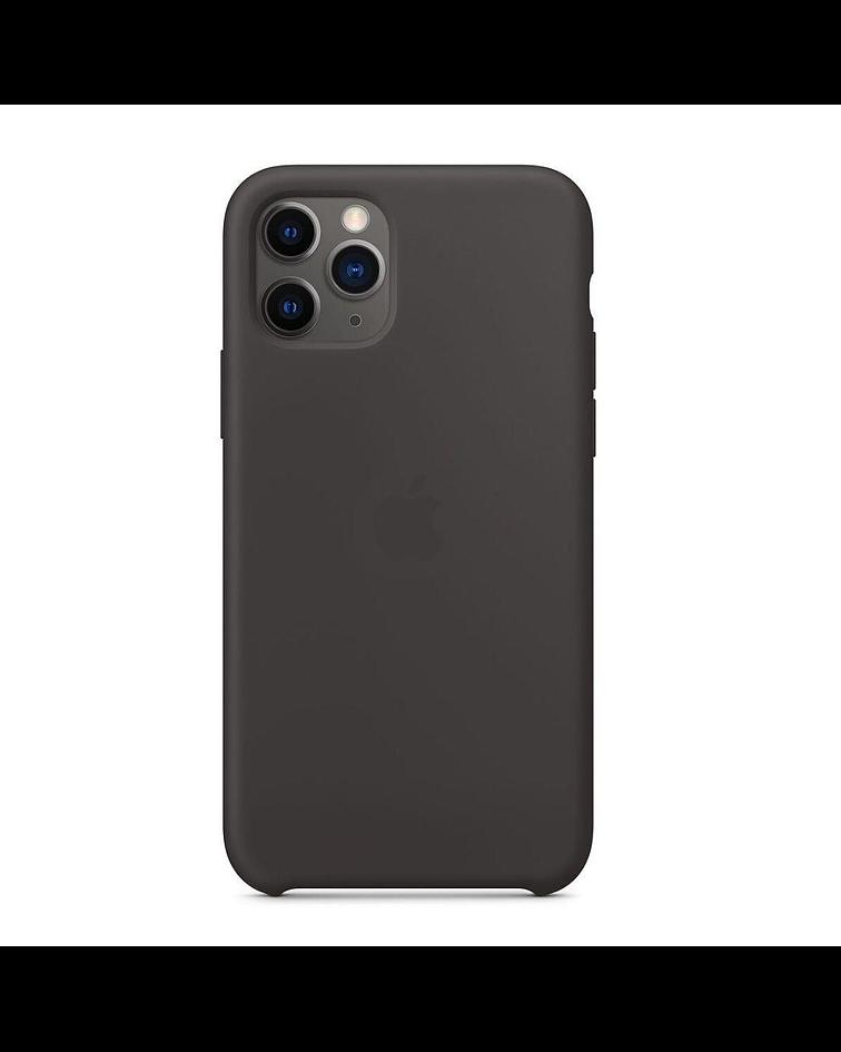 Carcasa silicona iPhone 11 Negro