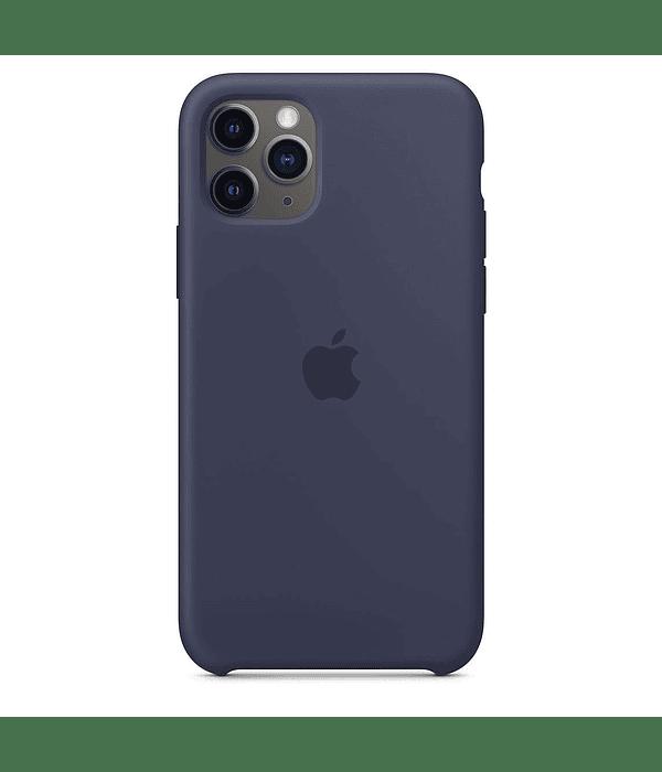Carcasa silicona iPhone 11 Azul