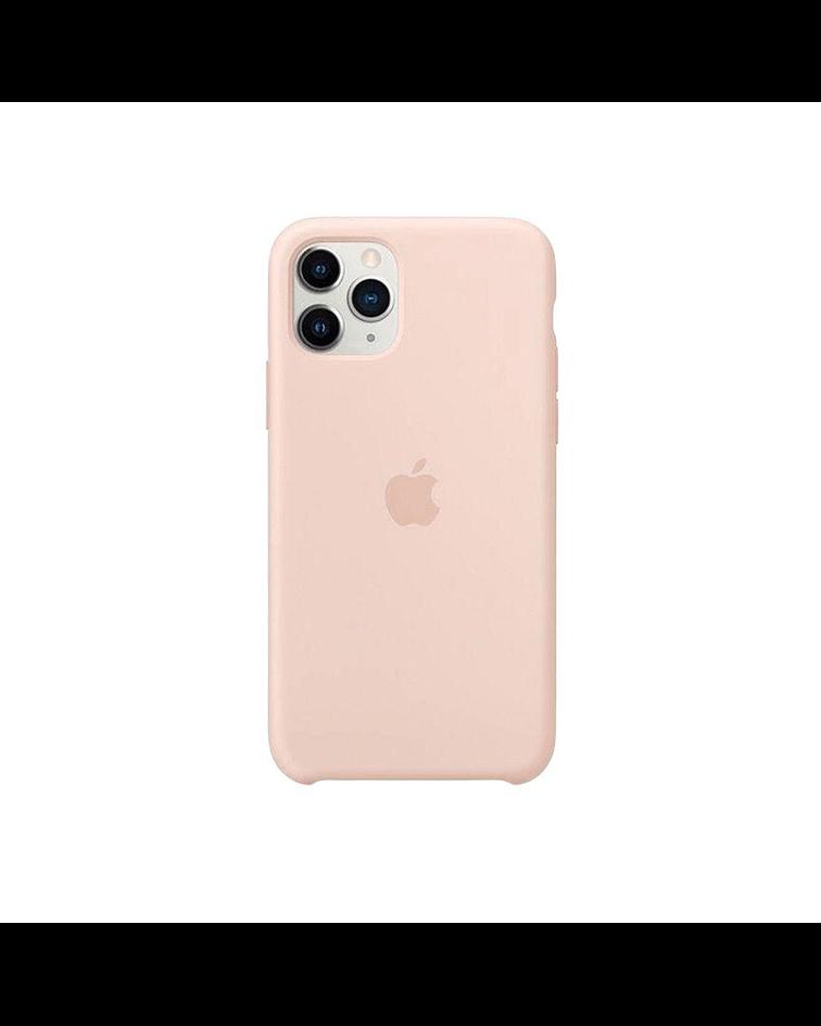 Carcasa silicona iPhone 11 Rosa Pálido