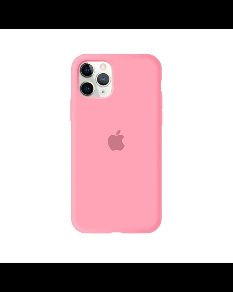 Carcasa silicona iPhone 11 Rosado
