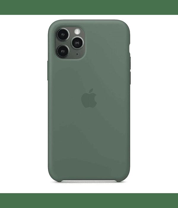 Carcasa silicona iPhone 11 Verde Bosque